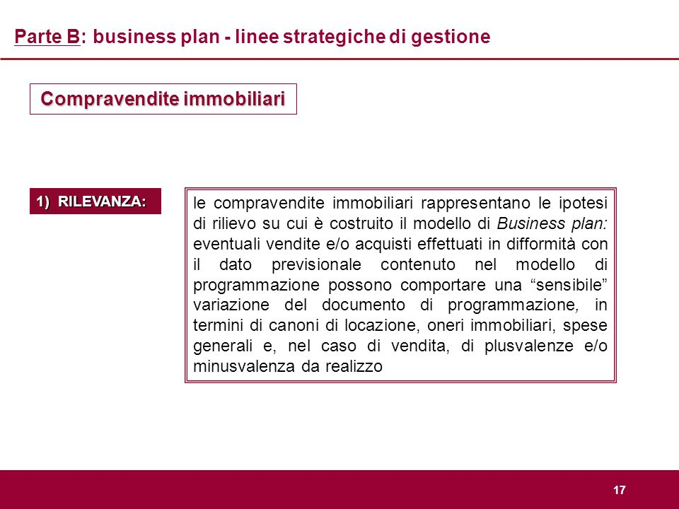 Business plan immobiliare modello 730