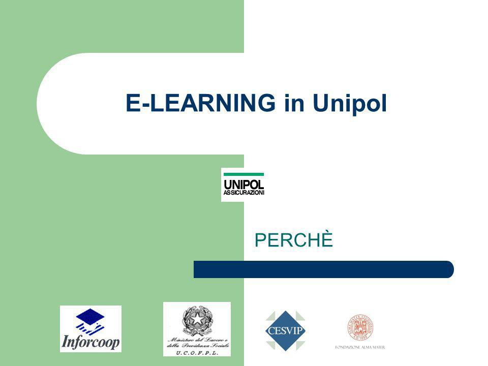 E-LEARNING in Unipol PERCHÈ