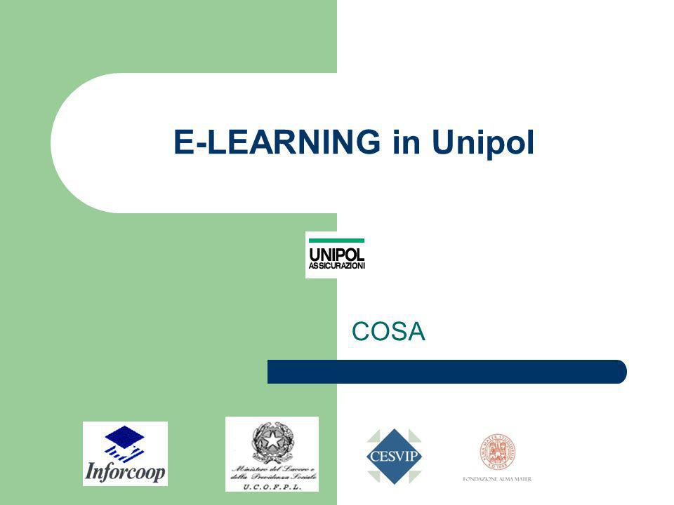 E-LEARNING in Unipol COSA