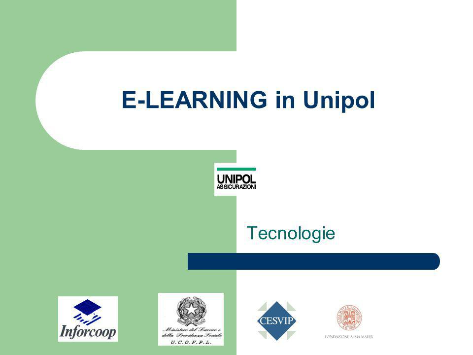 E-LEARNING in Unipol Tecnologie