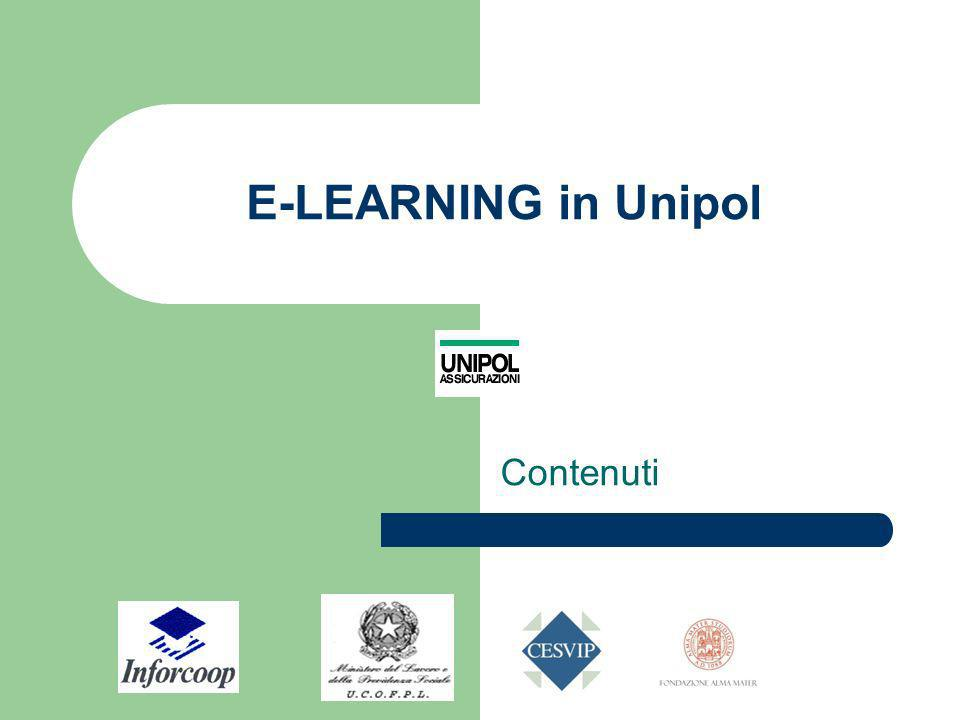 E-LEARNING in Unipol Contenuti