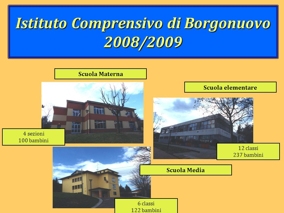 Istituto Comprensivo di Borgonuovo 2008/2009