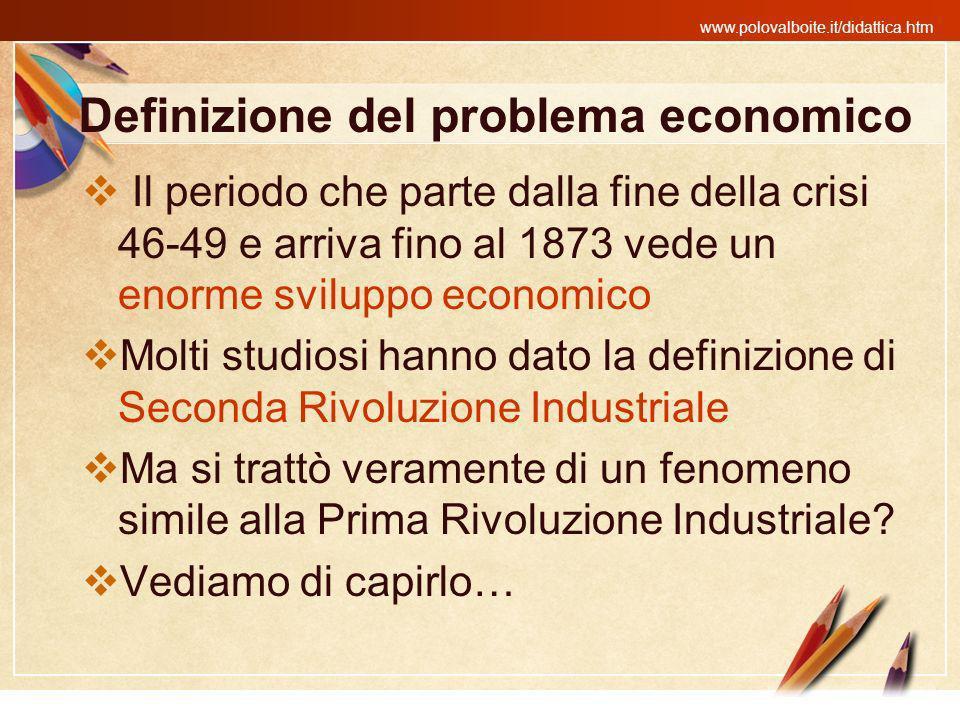 Definizione del problema economico