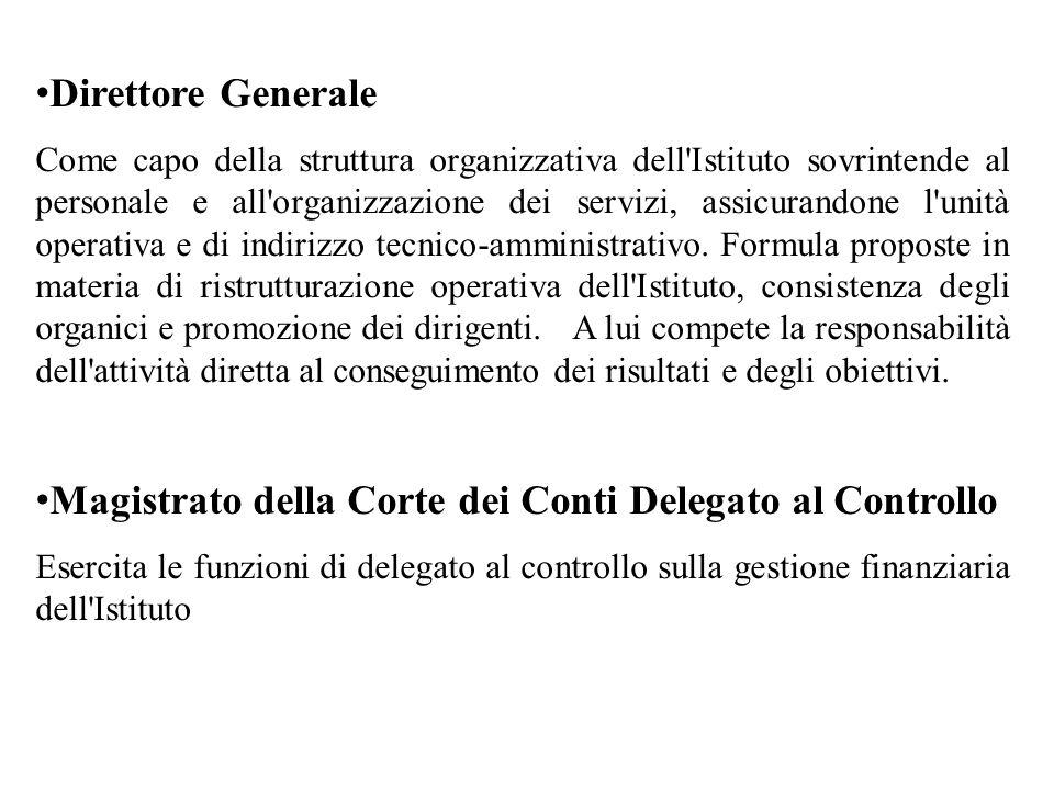 Magistrato della Corte dei Conti Delegato al Controllo