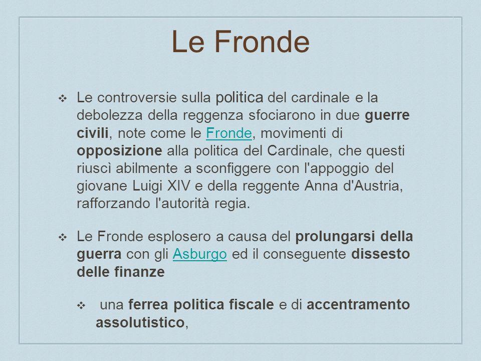Le Fronde