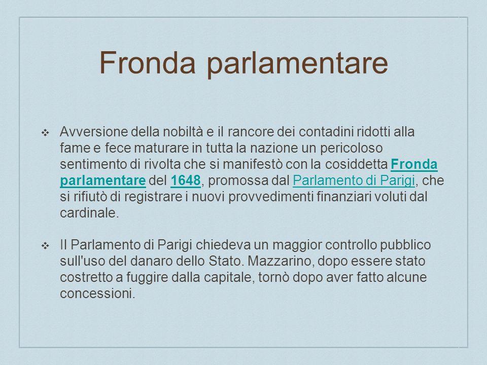 Fronda parlamentare