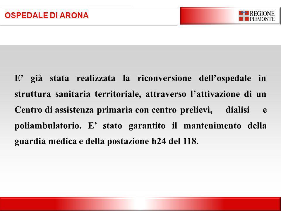 OSPEDALE DI ARONA