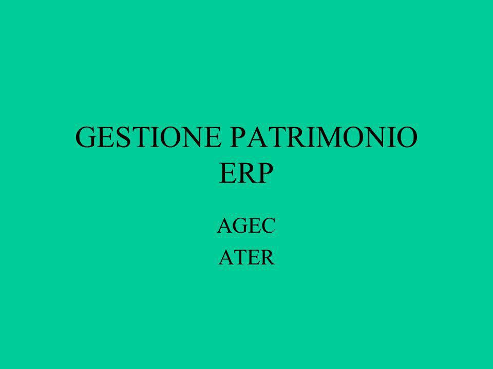 GESTIONE PATRIMONIO ERP