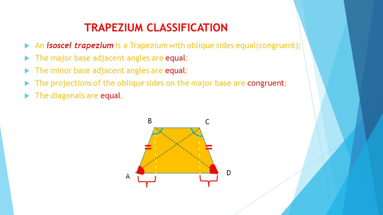 TRAPEZIUM CLASSIFICATION