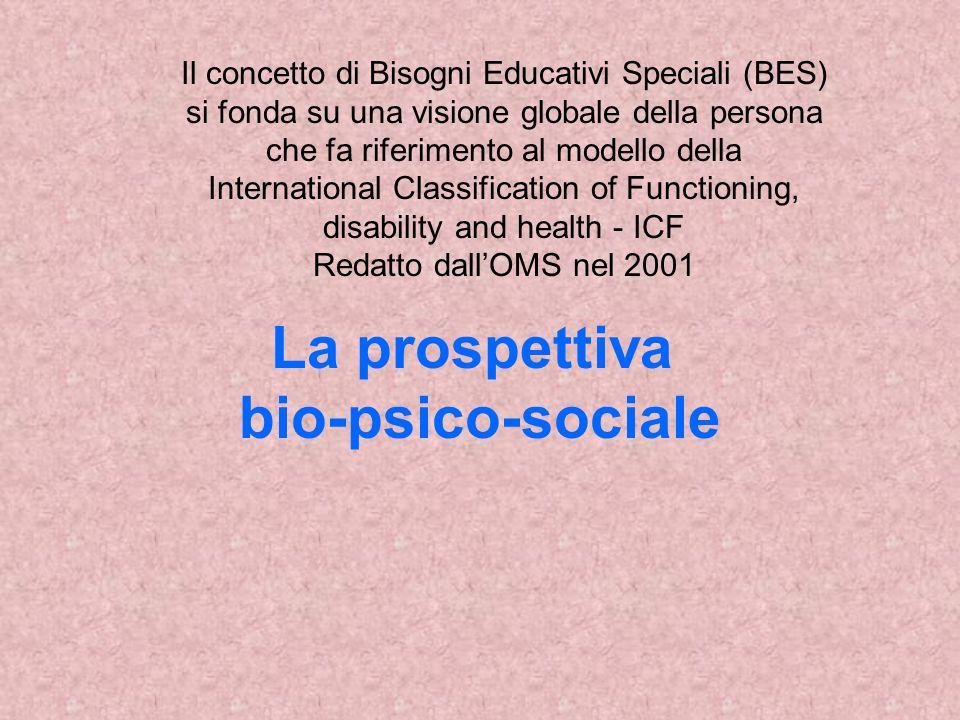 La prospettiva bio-psico-sociale