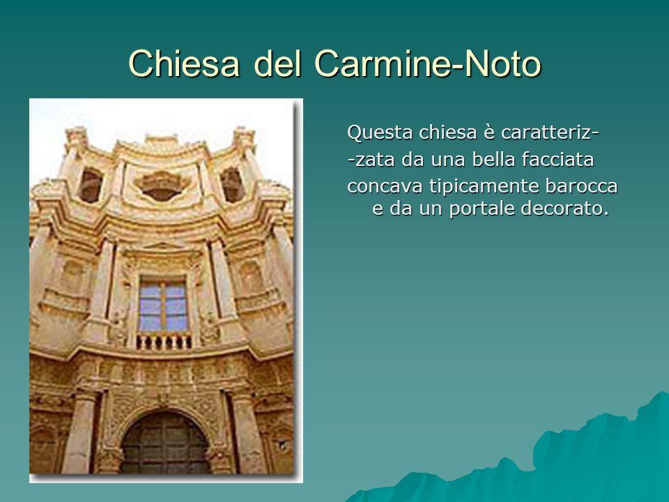 Chiesa del Carmine-Noto