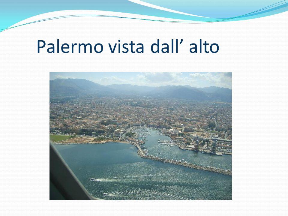Palermo vista dall' alto