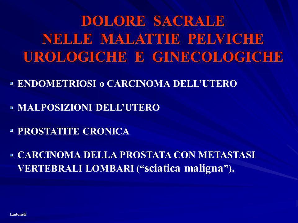 NELLE MALATTIE PELVICHE UROLOGICHE E GINECOLOGICHE