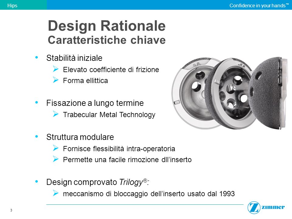 Design Rationale Caratteristiche chiave