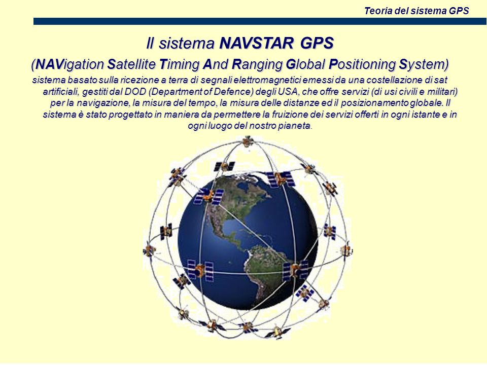 (NAVigation Satellite Timing And Ranging Global Positioning System)