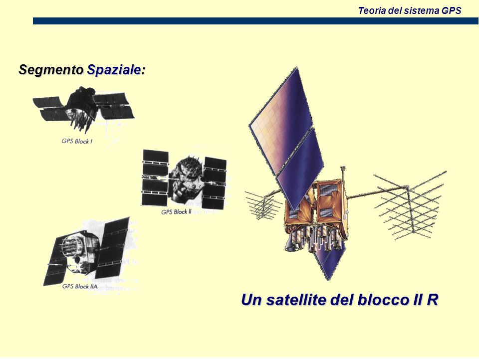Un satellite del blocco II R