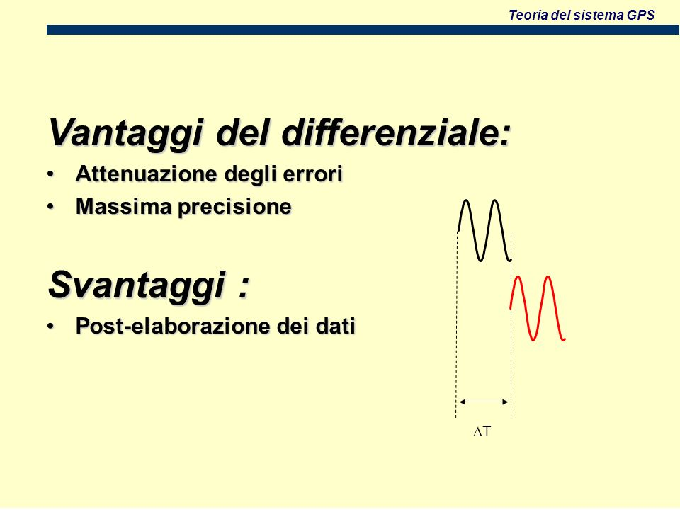 Vantaggi del differenziale: