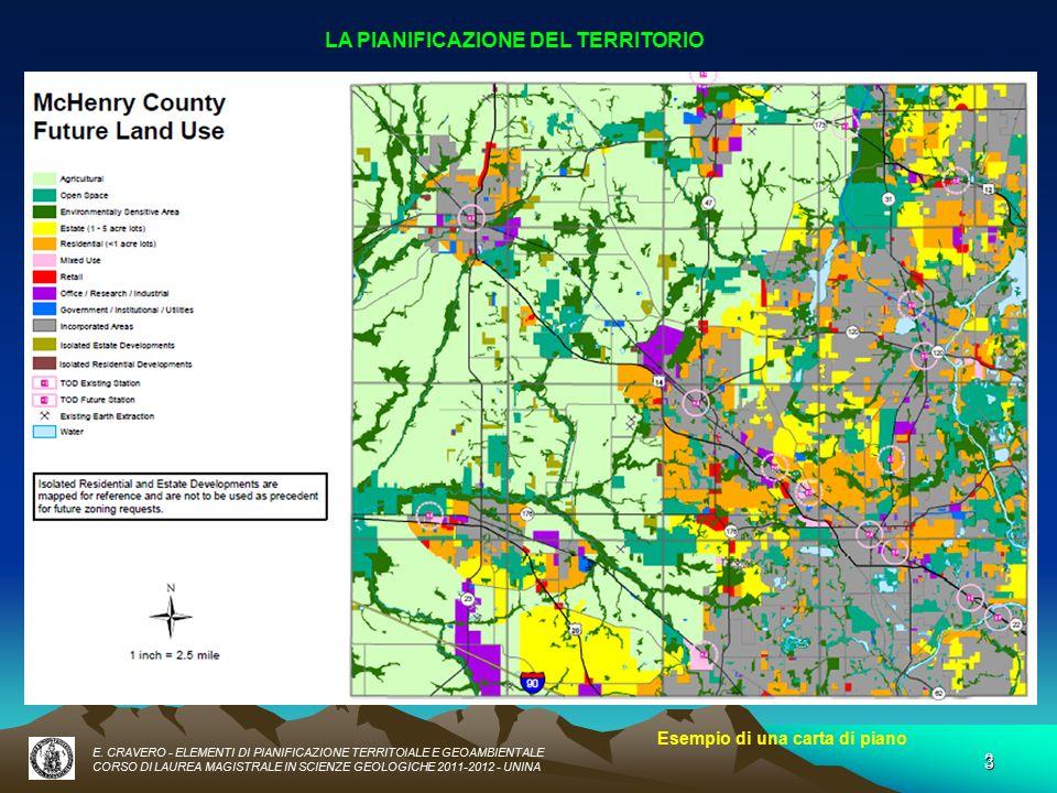 Elementi di pianificazione territoriale e geoambientale for Esempi di piani di marketing