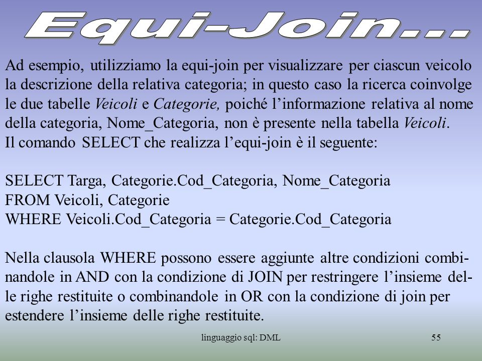 Equi-Join...