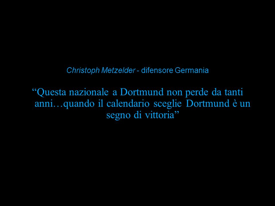 Christoph Metzelder - difensore Germania