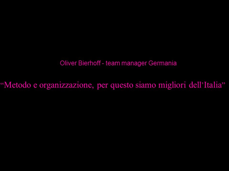 Oliver Bierhoff - team manager Germania