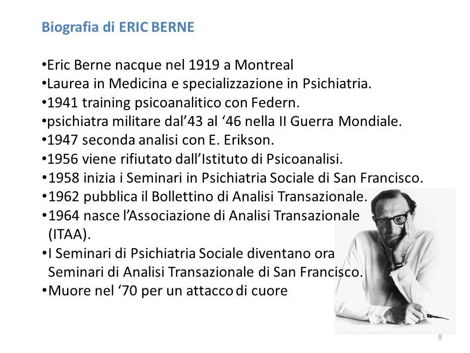 Biografia di ERIC BERNE