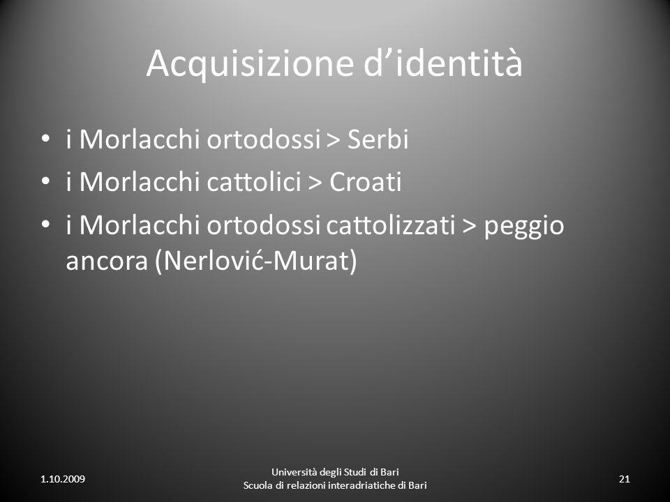 Acquisizione d'identità