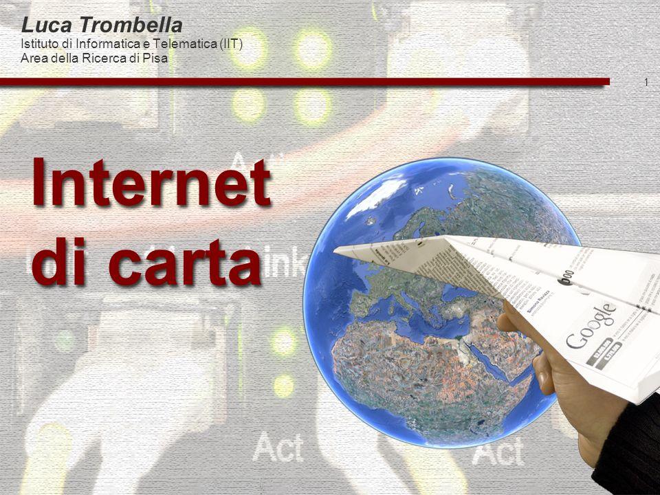 Internet di carta Luca Trombella