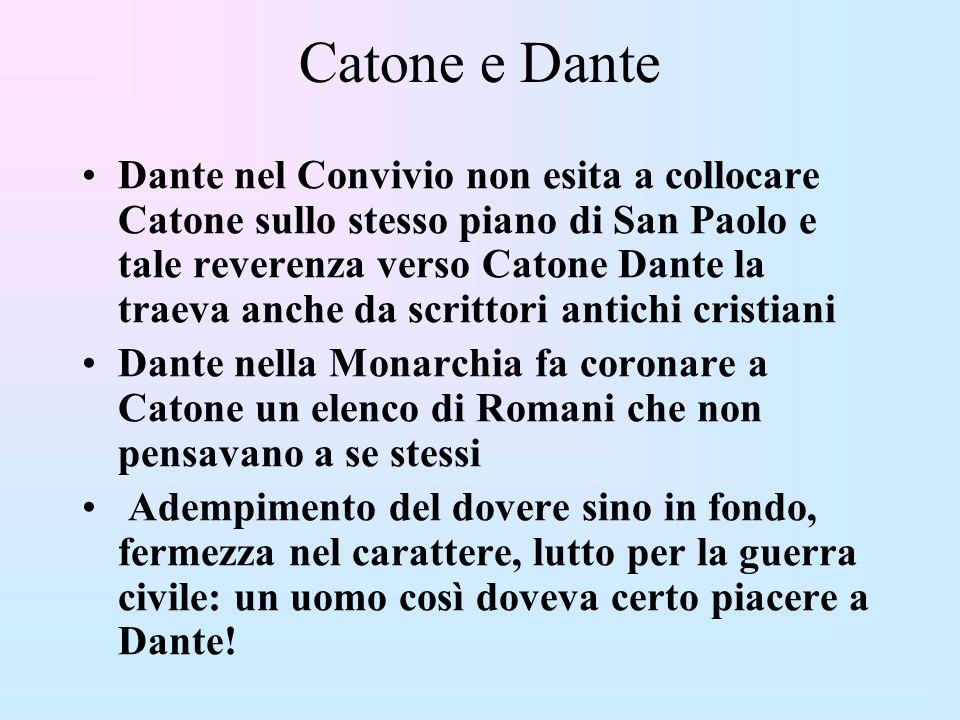 Catone e Dante
