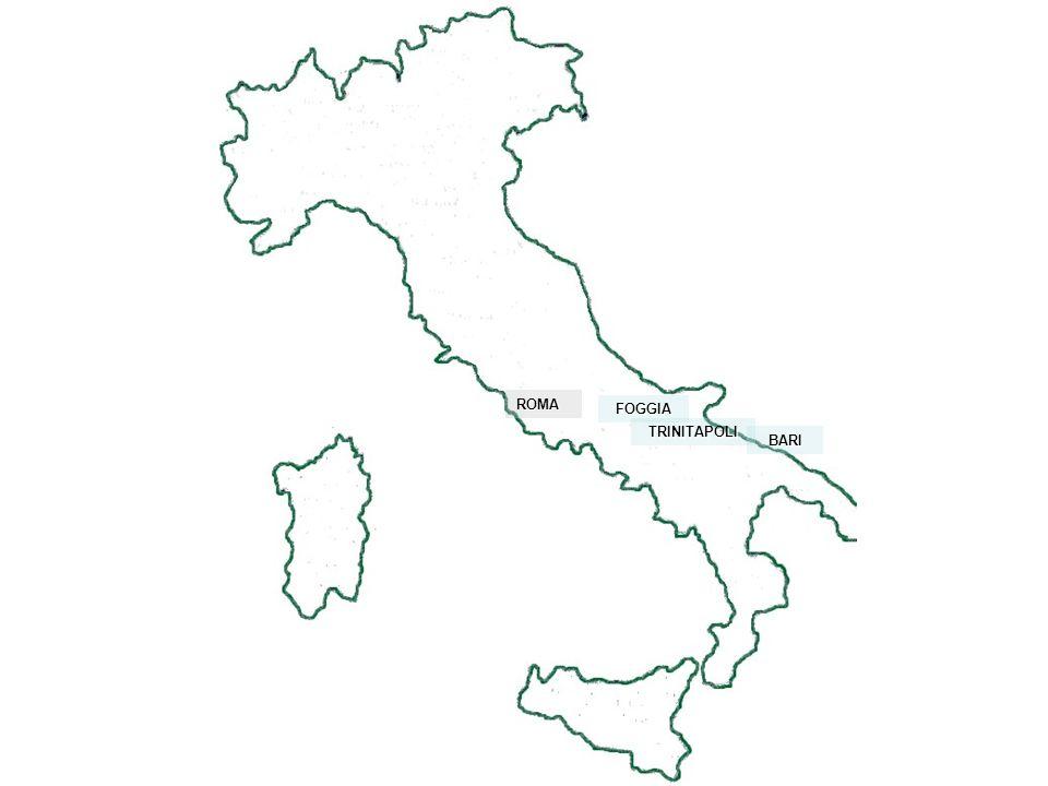ROMA FOGGIA TRINITAPOLI BARI