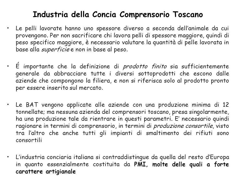 Industria della Concia Comprensorio Toscano
