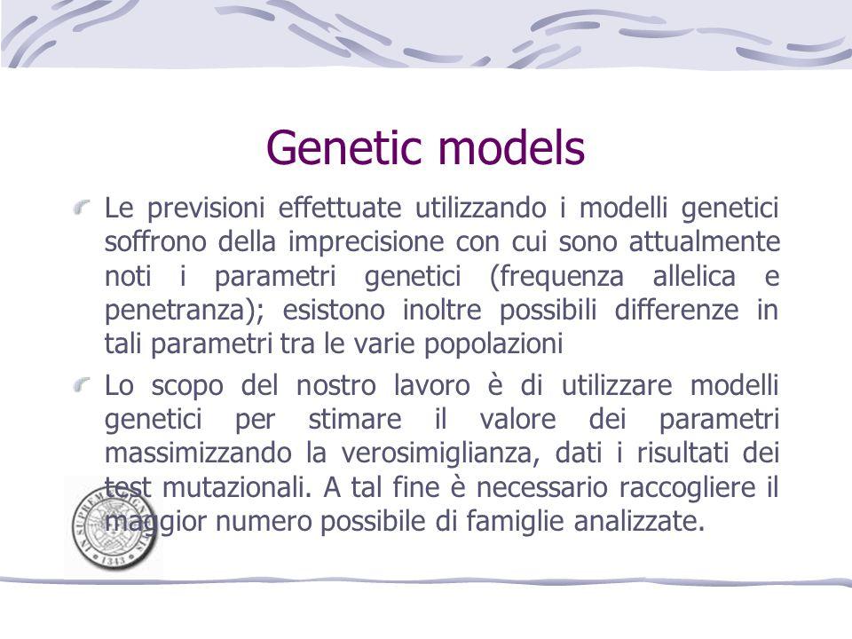 Genetic models