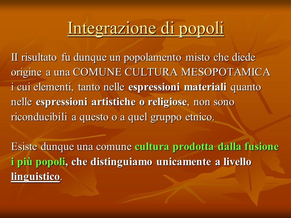 Integrazione di popoli