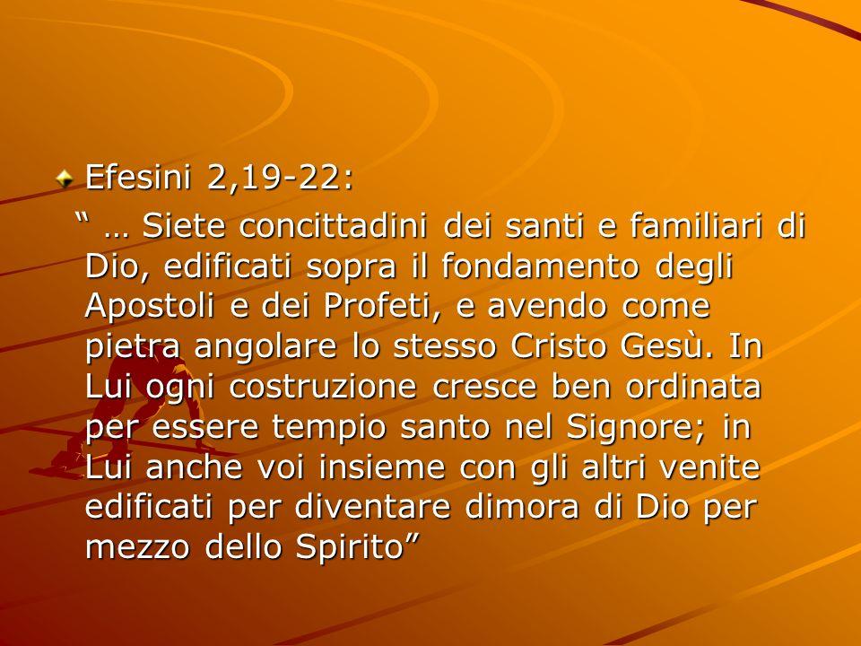 Efesini 2,19-22: