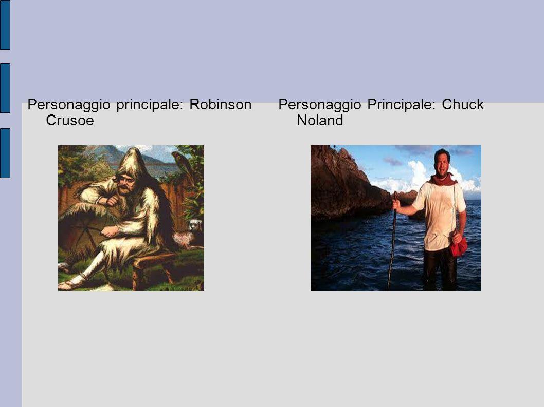 Personaggio principale: Robinson Crusoe
