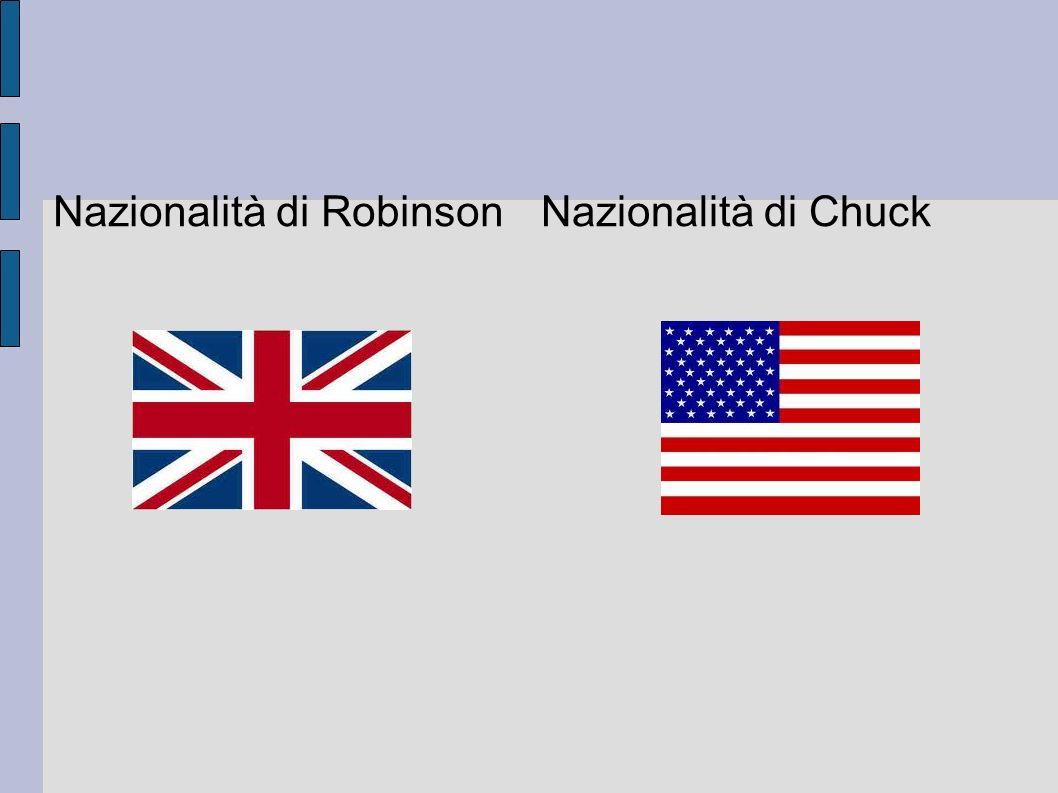 Nazionalità di Robinson