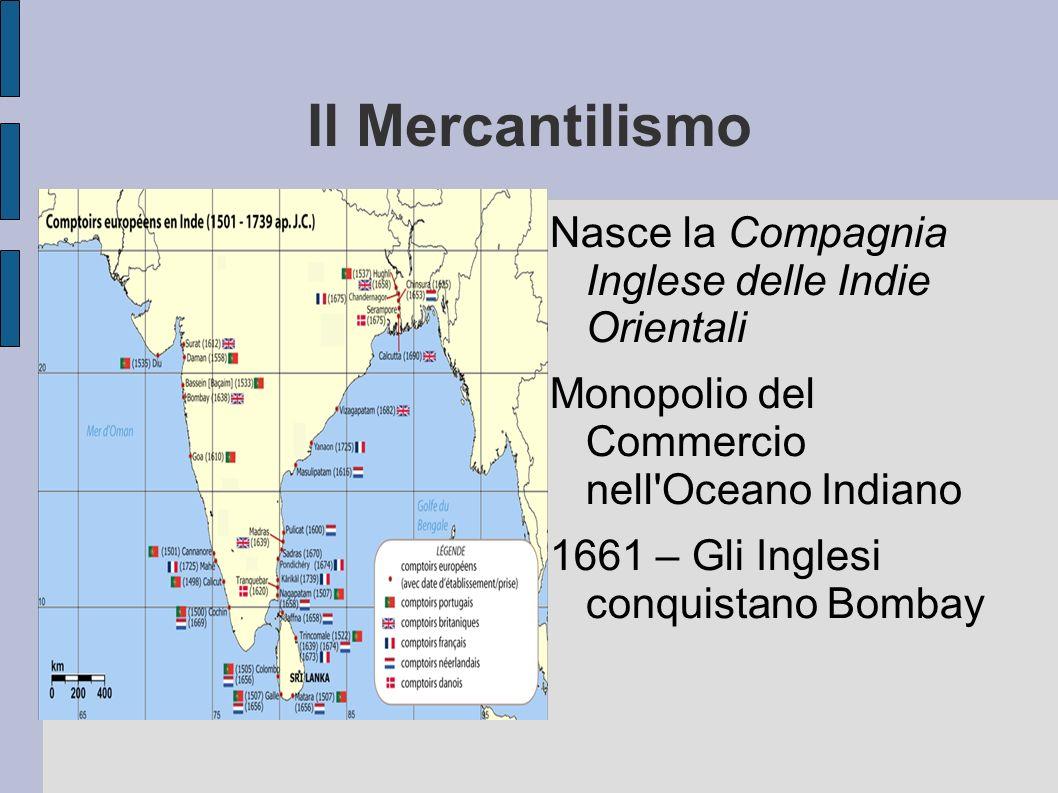 Il Mercantilismo Nasce la Compagnia Inglese delle Indie Orientali
