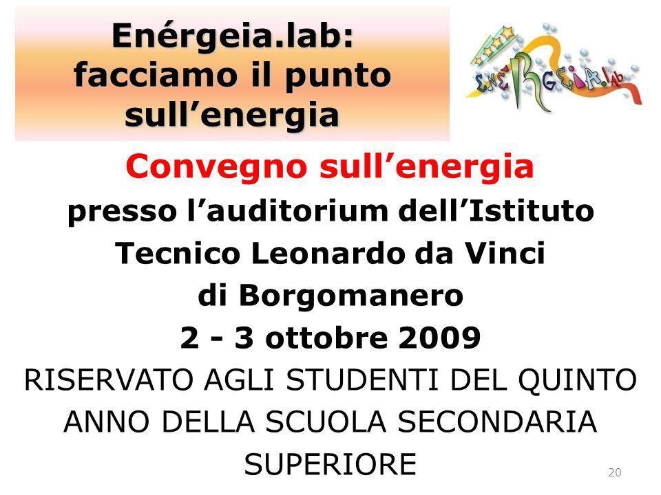 Enérgeia.lab: facciamo il punto sull'energia