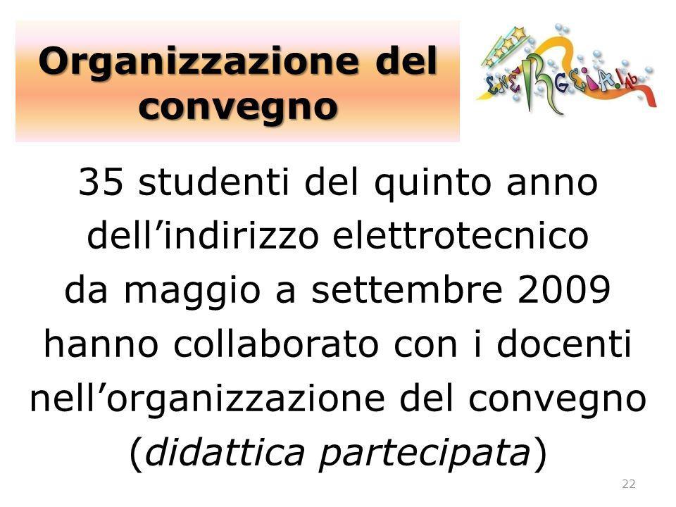 Organizzazione del convegno