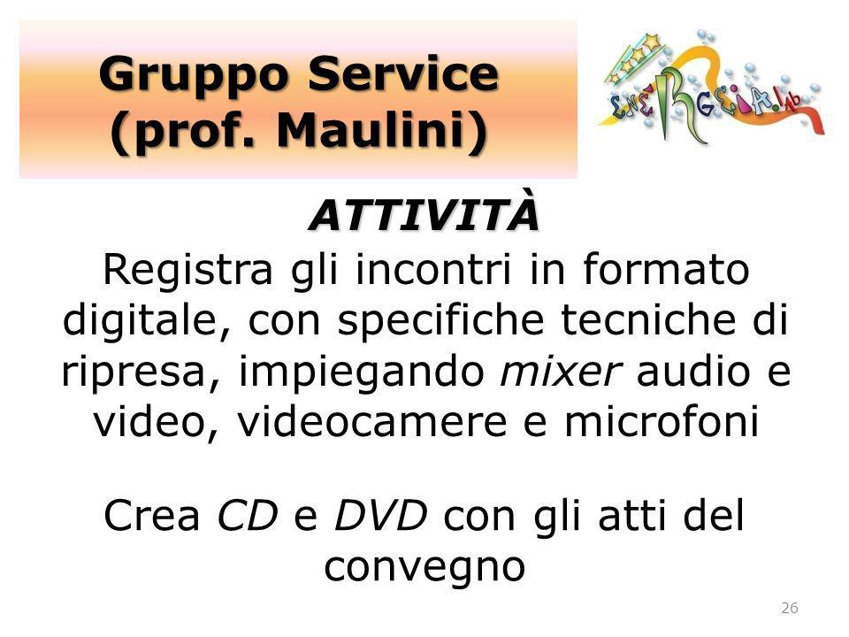Crea CD e DVD con gli atti del convegno