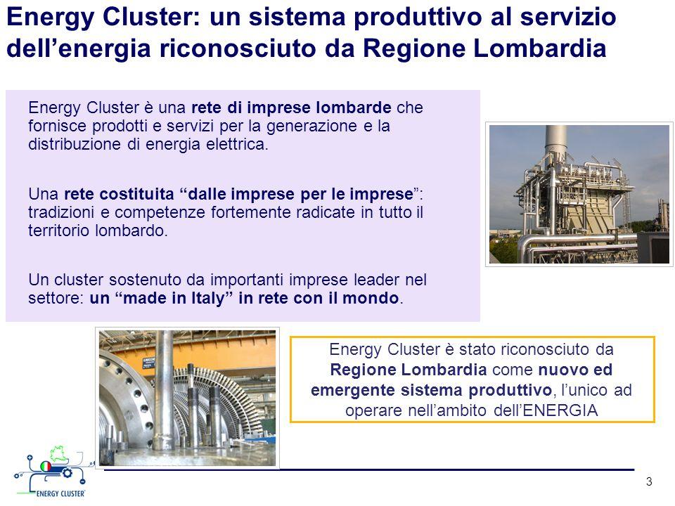 Energy Cluster: un sistema produttivo al servizio dell'energia riconosciuto da Regione Lombardia