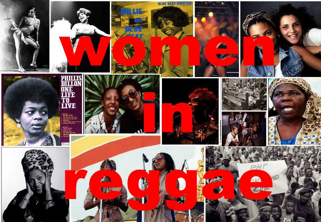 women in reggae