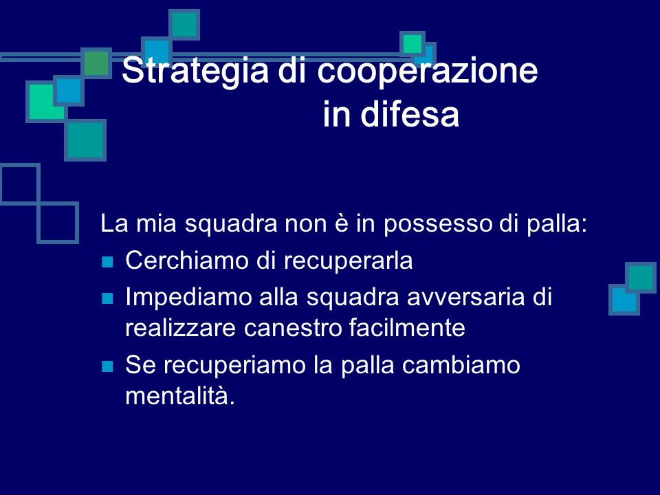 Strategia di cooperazione in difesa