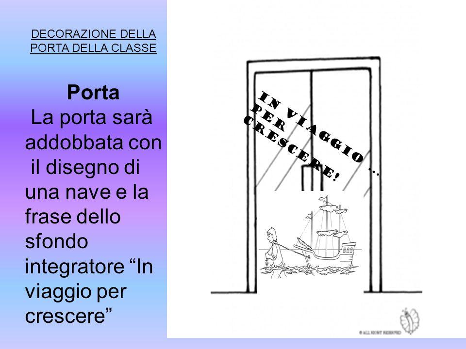 DECORAZIONE DELLA PORTA DELLA CLASSE