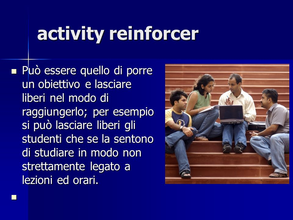 activity reinforcer