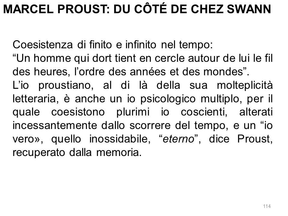 MARCEL PROUST: DU CÔTÉ DE CHEZ SWANN