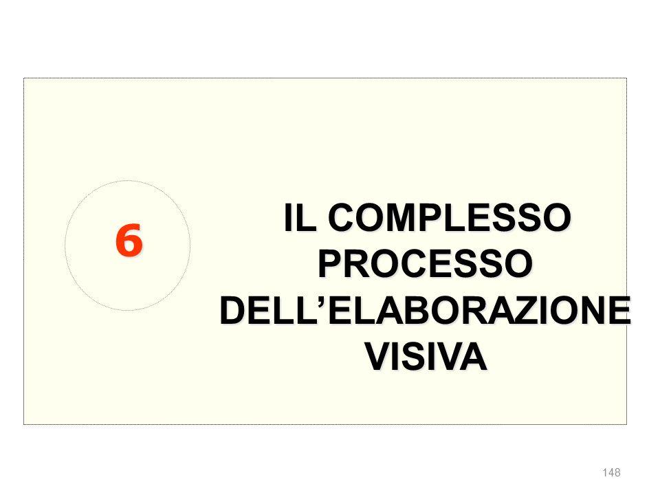 IL COMPLESSO PROCESSO DELL'ELABORAZIONE VISIVA