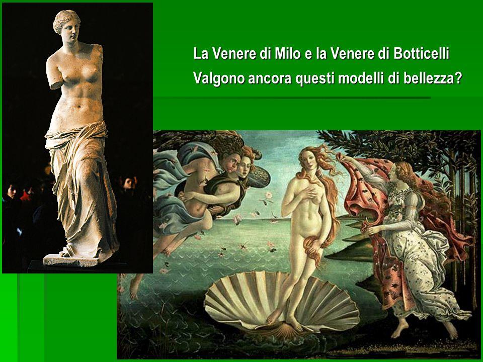 La Venere di Milo e la Venere di Botticelli