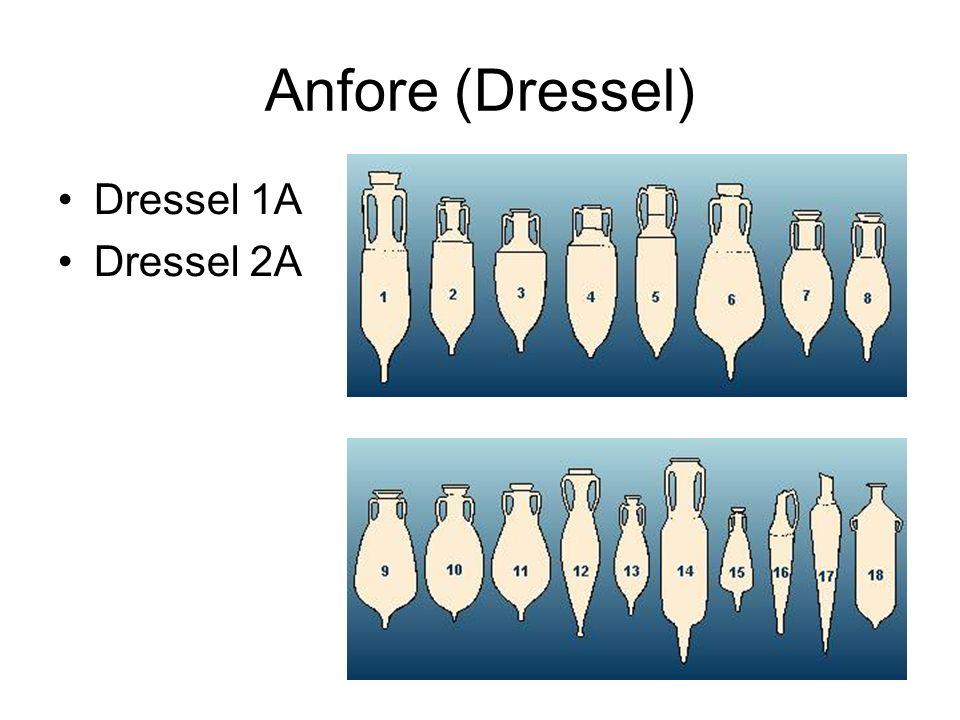 Anfore (Dressel) Dressel 1A Dressel 2A