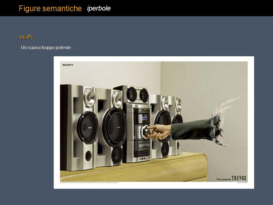 Figure semantiche iperbole Hi-Fi Un suono troppo potente…